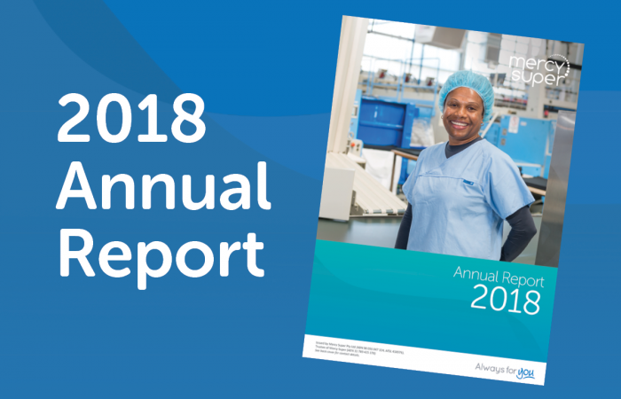 Mercy Super 2018 Annual Report