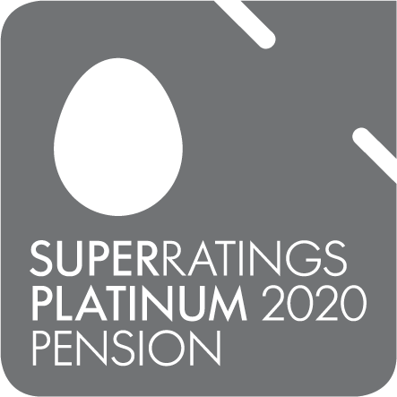 Super Ratings Platinum 2020 Pension